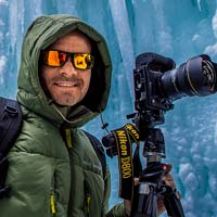 Portrait photo of Tim Shields, a VAST photographer artist creating very high resolution fine art photos of landscapes and nature