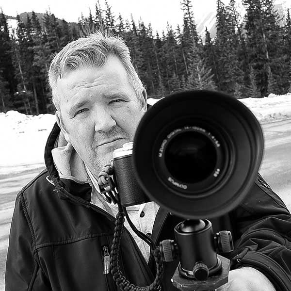 Portrait photo of Steve Webster, a VAST photographer artist creating very high resolution fine art photos of waterfalls, nature, and landscapes