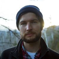 Portrait photo of Nick Pedersen, a VAST artist creating very high resolution fine art photos about environmental themes.