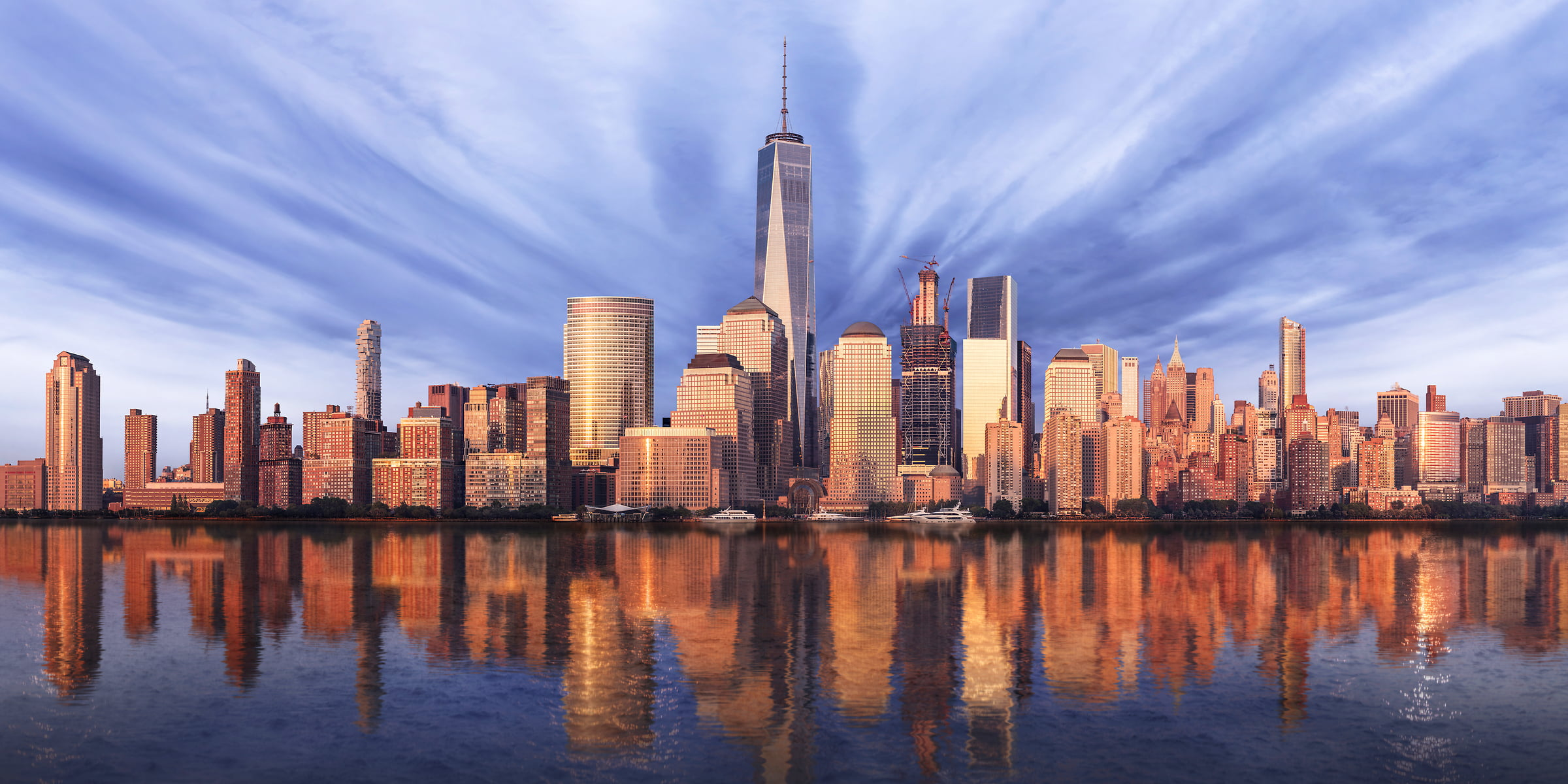 Nyc World Trade Center Skyline Photos High Resolution