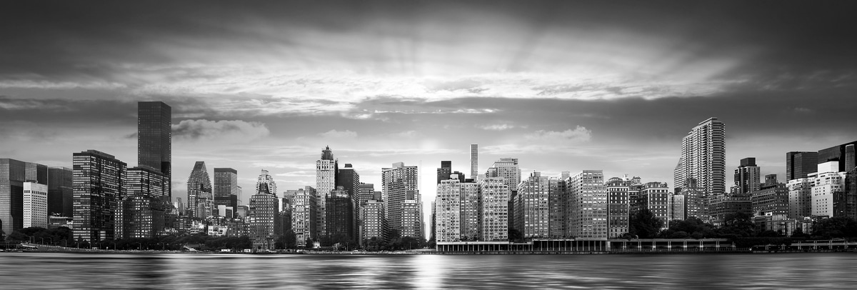 High Quality Black And White City Photography