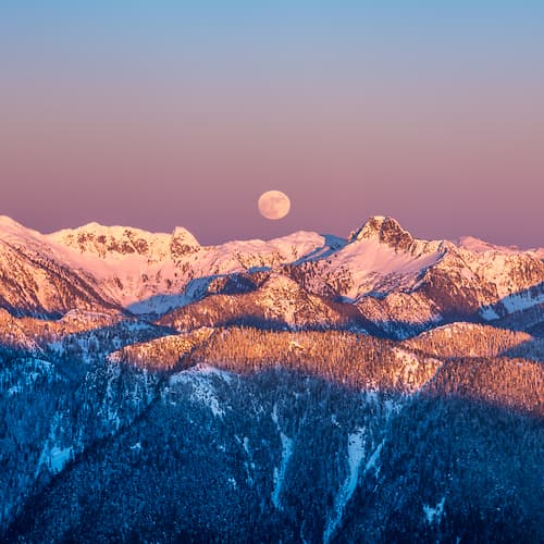 "Photo Release: ""Mountain Moonrise"" by Tim Shields"