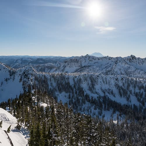 "Photo Release: ""Mountains of Snoqualmie Pass"" by Scott Rinckenberger"