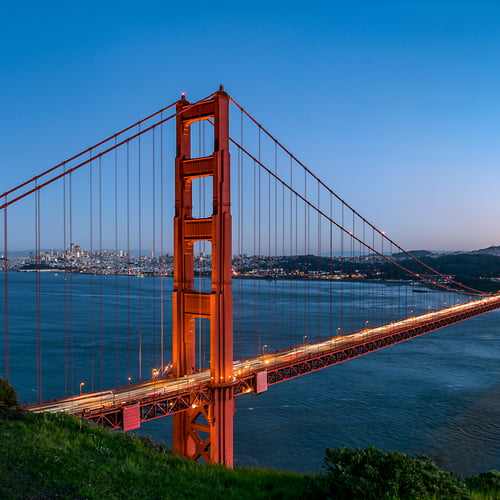 "Photo Release: ""Golden Gate from Battery Spencer"" by Justin Katz"