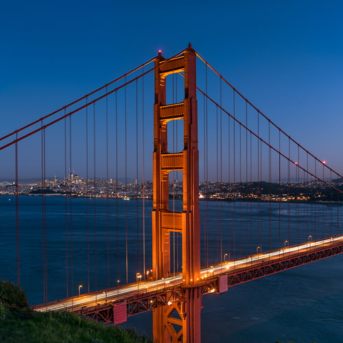 "Photo Release: ""Golden Gate North Tower"" by Justin Katz"