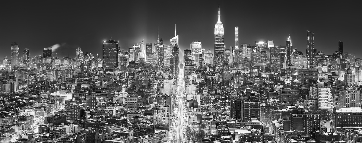 New York City Skyline Photos High Res Large Format Prints Vast