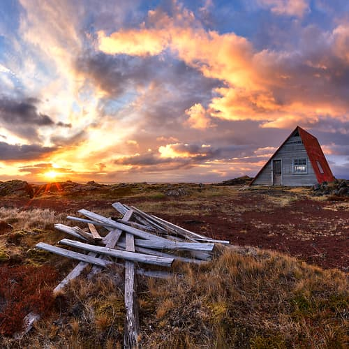 "Photo Release: ""The Little Red A-Frame"" by Scott Dimond"