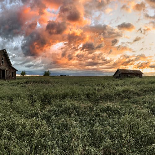 "Photo Release: ""The Lund Homestead I"" by Scott Dimond"