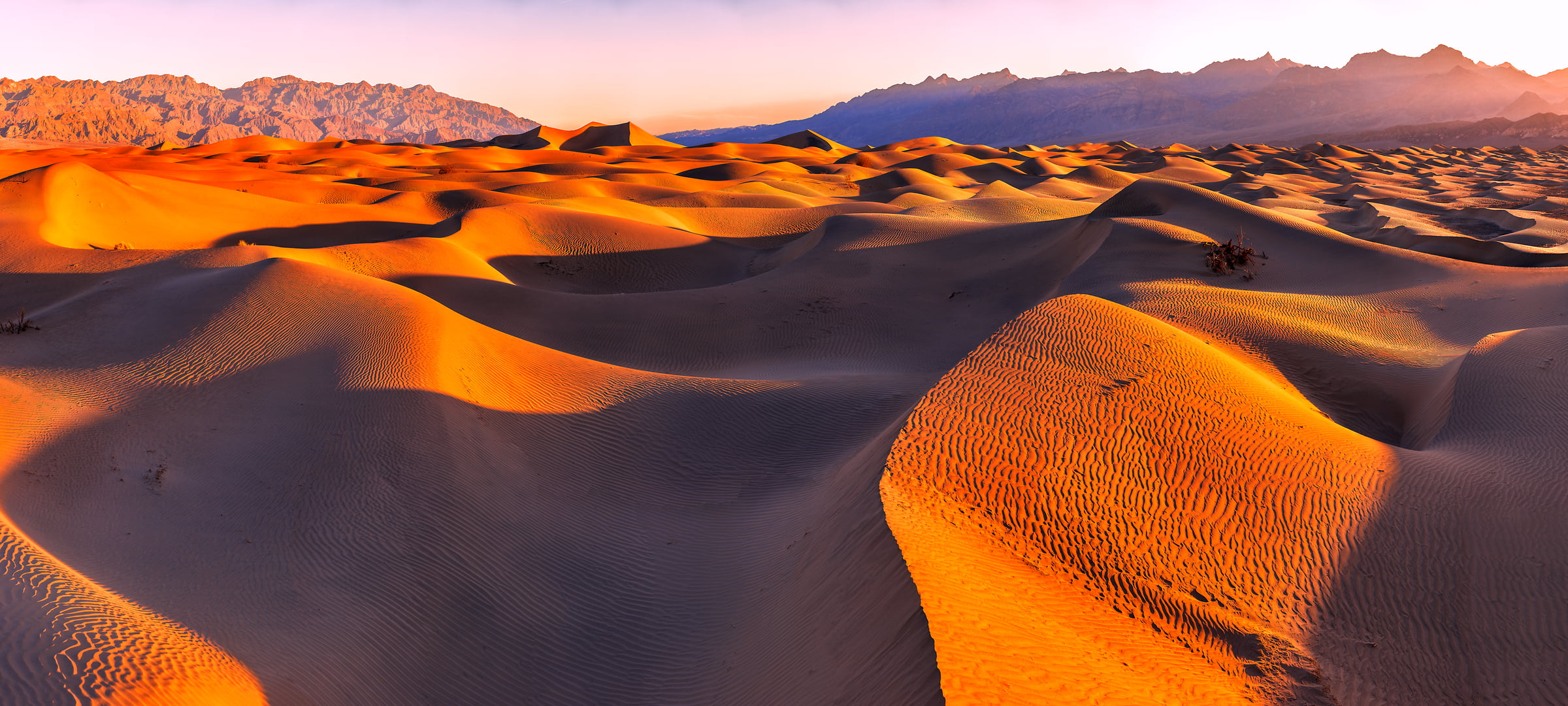 1,831 megapixels! A very high resolution, large-format VAST photo print of sand dunes in Death Valley National Park; fine art landscape photo created by Chris Collacott in Death Valley National Park, California