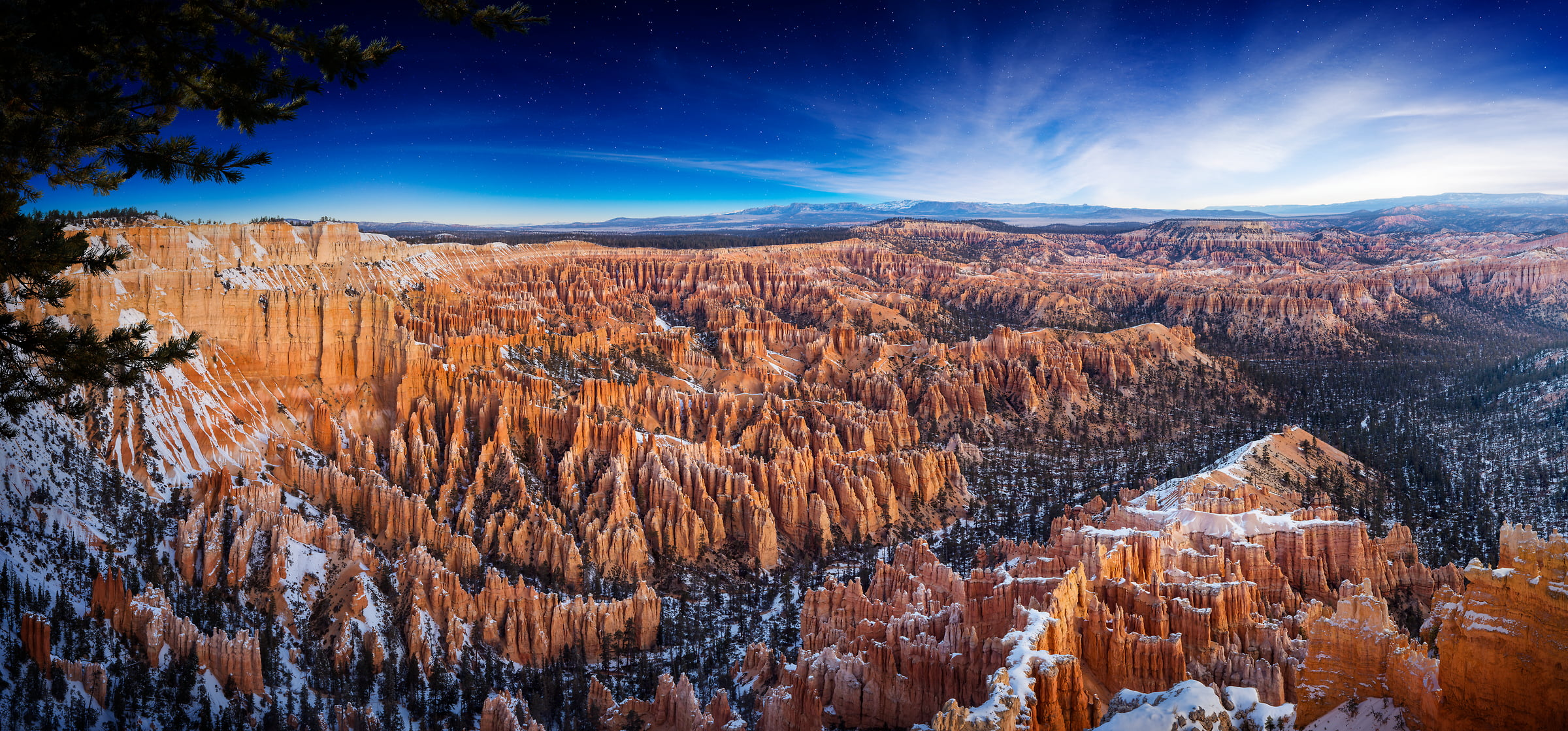 236 megapixels! A very high resolution, large-format VAST photo of Bryce Canyon; fine art landscape photograph created by Nick Pedersen in Bryce Canyon National Park, Utah