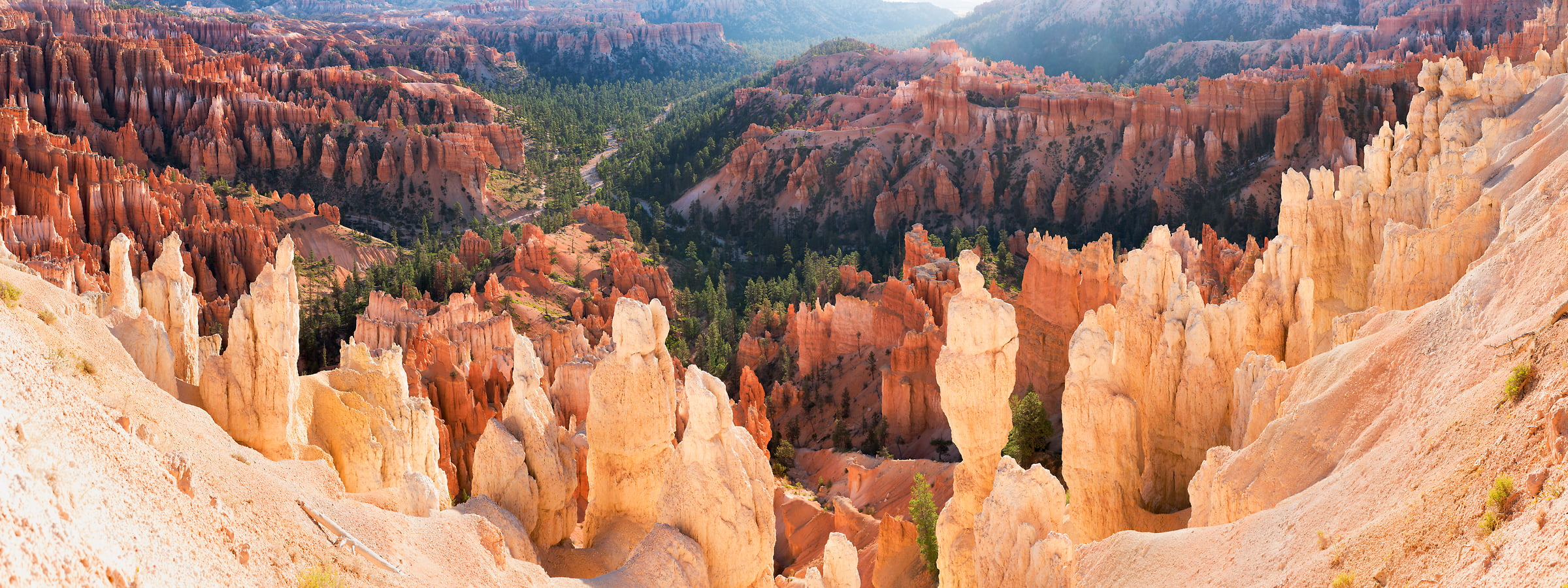 435 megapixels! A very high resolution, large-format VAST photo of an American landscape with natural formations; geological photograph created by Jim Tarpo in Bryce Canyon National Park, Utah