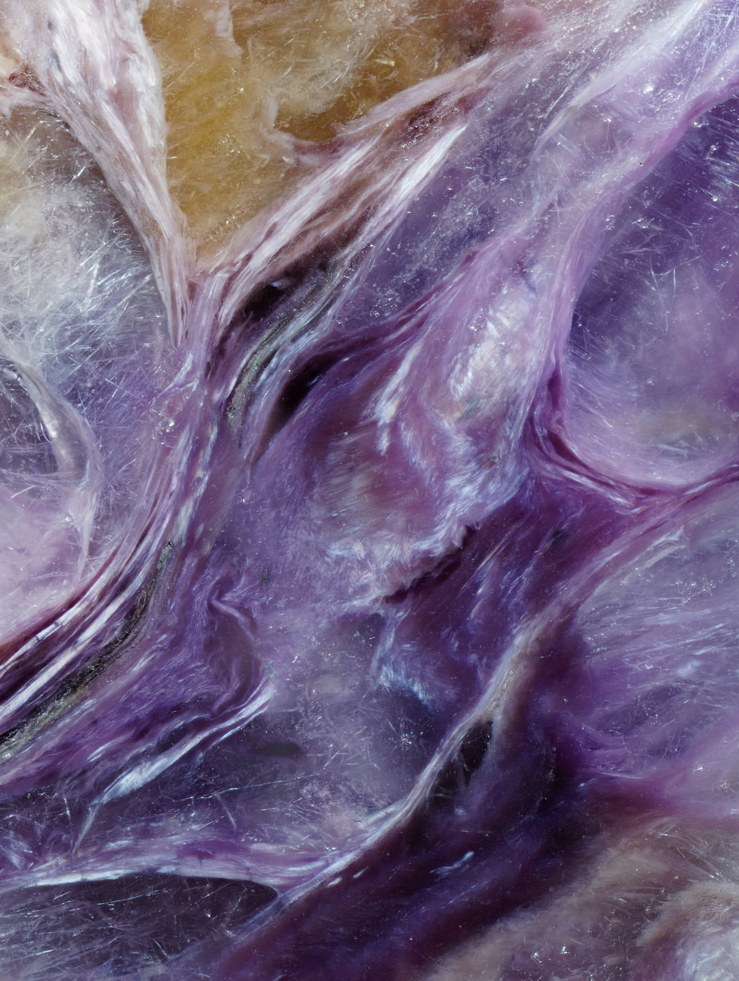 421 megapixels! A very high resolution abstract nature photo of a gemstone; VAST photo and fine art print created by Steph Mantis