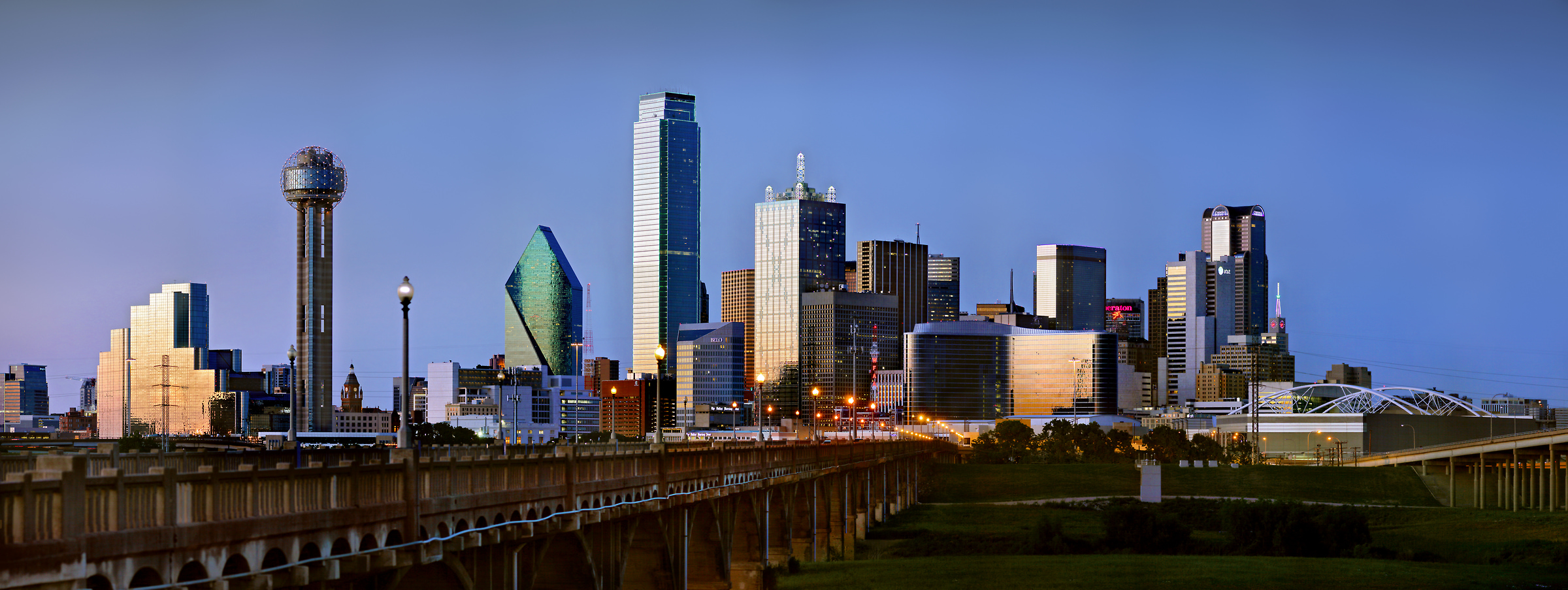 505 megapixels! A very high resolution skyline photo of Dallas; VAST photo created by Phil Crawshay in Dallas, Texas, USA