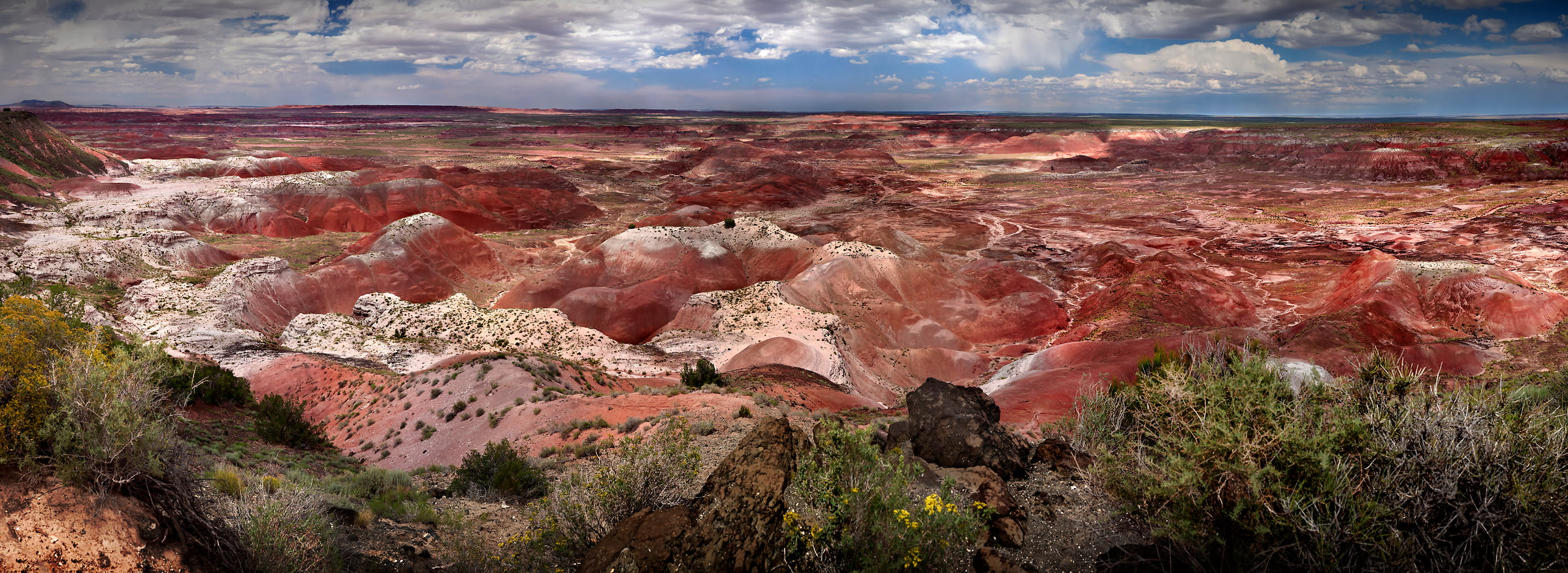329 megapixels! A very high resolution american landscape photograph; VAST photo created by Phil Crawshay in Petrified Forest National Park, Arizona