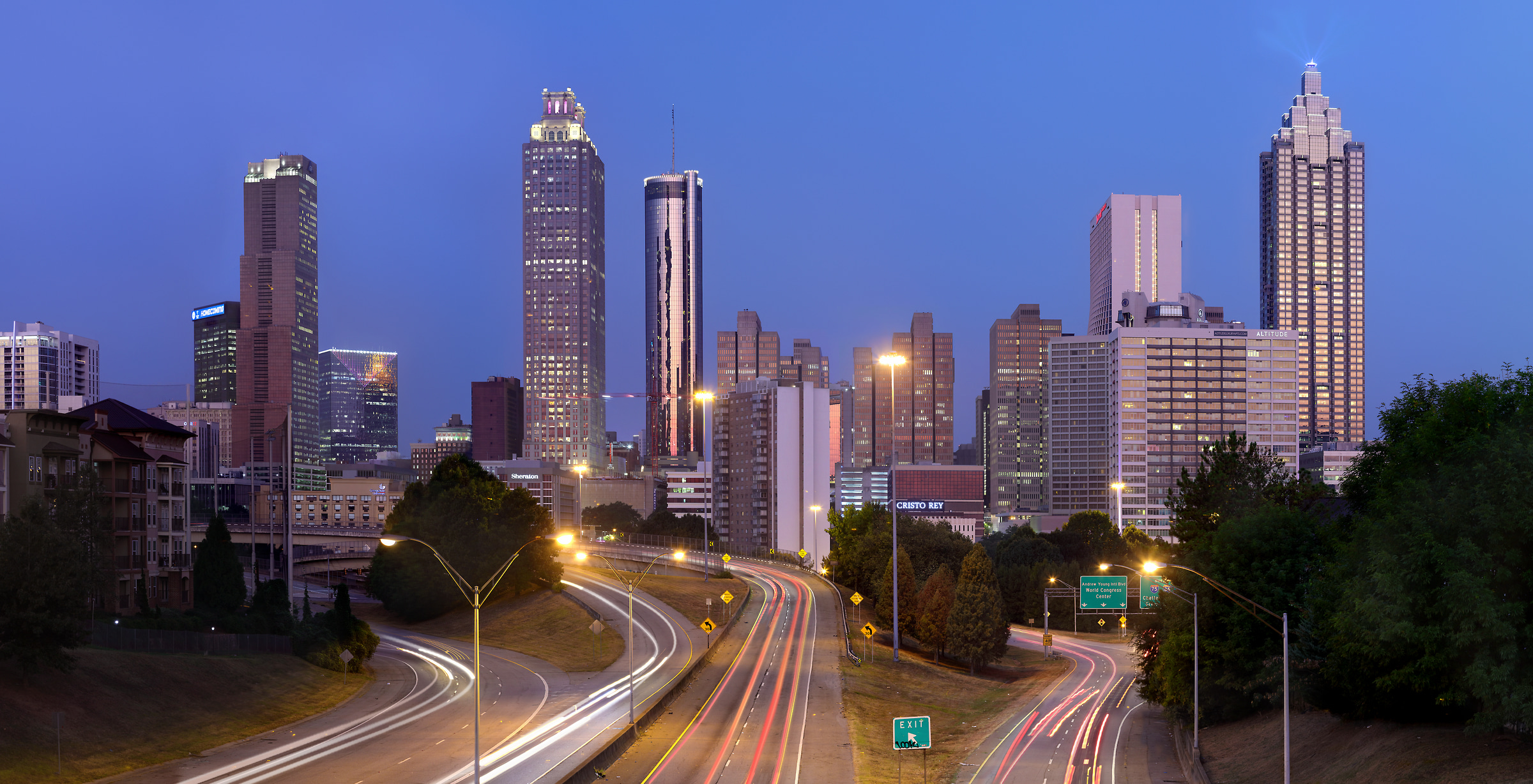 High Resolution Atlanta Skyline Photos Vast